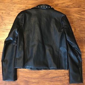 Disney Jackets & Coats - Disney Villains Studded Faux Leather Jacket